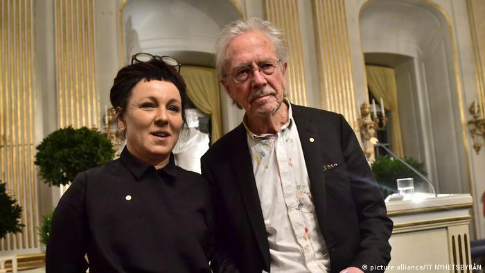 Olga Tokarczuk und Peter Handke Nobel-Vorlesung
