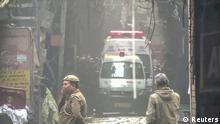 Indien Großbrand Neu Delhi