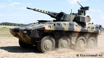Бронемашина Boxer производства немецкого концерна Rheinmetall