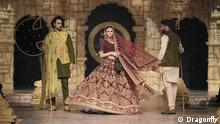 Pakistan Modenschau in Lahore