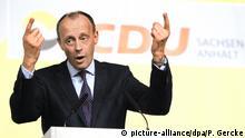 Kleiner Parteitag der CDU Sachsen-Anhalt | Friedrich Merz