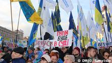 Ukraine Proteste in Kiew
