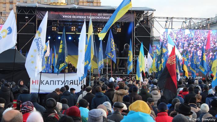 Ukraine Proteste in Kiew (DW/O. Sawytsky)