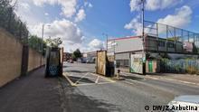 Nordirland | Peace Wall in Belfast