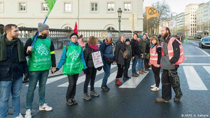 Belgien Klimaprotest 'United for Climate' in Brüssel