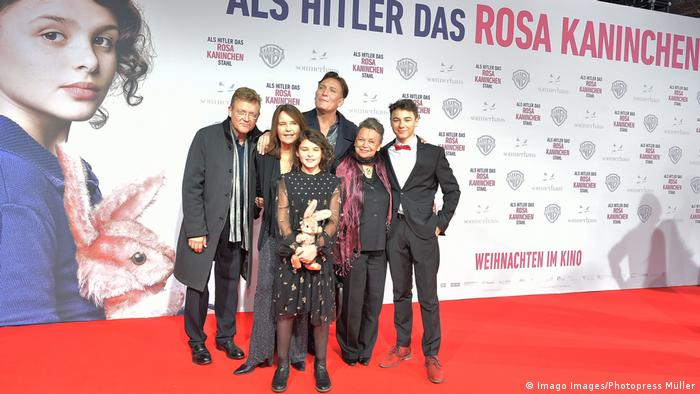 The German premiere of the film 'When Hitler Stole Pink Rabbit'