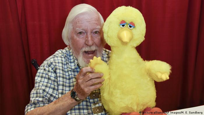 Caroll Spinney, Puppenspieler von 'Big Bird' (picture-alliance/AP Images/M. E. Sandberg)