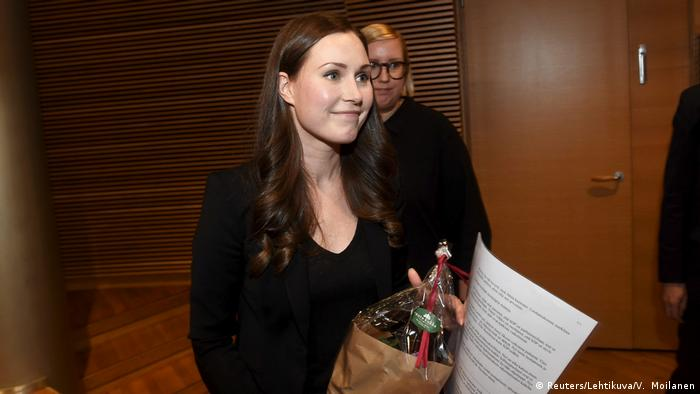 Finnland Sanna Marin soll Regierungschefin werden (Reuters/Lehtikuva/V. Moilanen)