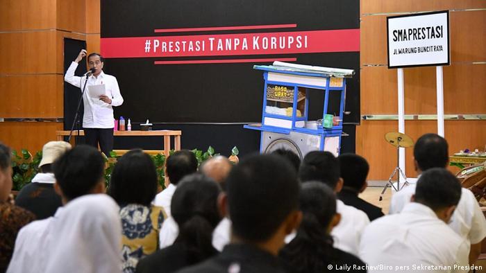 Indonesien Präsident Joko Widodo Welt-Anti-Korruptions-Tag