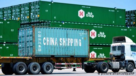 Chinese containers
