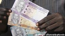 Südsudan Währung