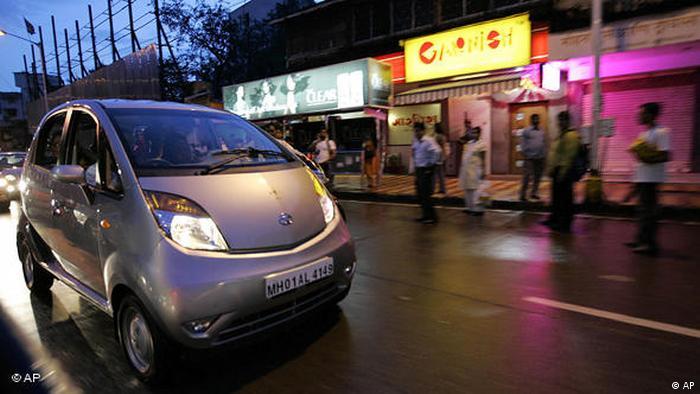Indien Flash-Galerie Automobilindustrie Auto Tata in Bombay