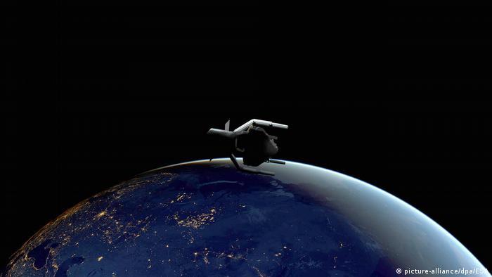 ESA plant erste Mission zur Bekämpfung von Weltraumschrott, ClearSpace-1