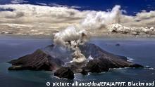 Neuseeland aktivster Vulkan Whakarri