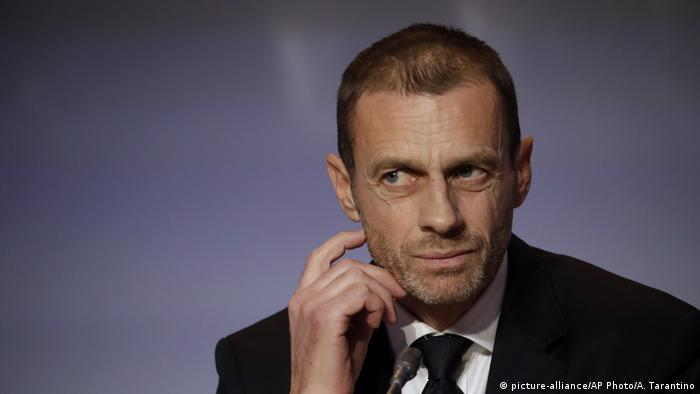 Aleksander Ceferin, UEFA head (picture-alliance/AP Photo/A. Tarantino)