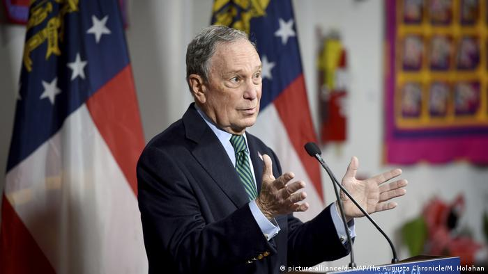 Michael Bloomberg, the billionaire ex-mayor of New York