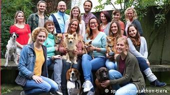 Команда благотворительного общества Tierschutz-Shop