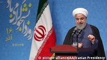 Iran Präsident Hassan Rouhani