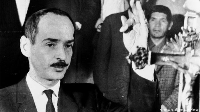 Bolivien Diktator Hugo Banzer (1971) (picture-alliance/AP Photo)