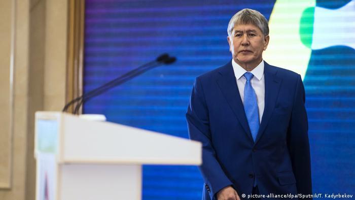 Экс-президент Киргизии Алмазбек Атамбаев