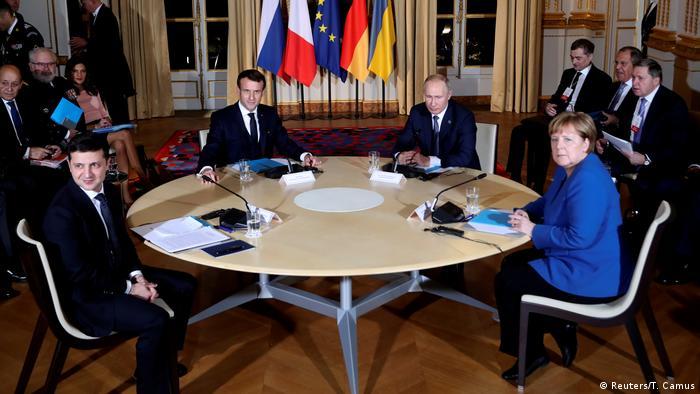 Der Gipfel im Normandie-Format, Dezember 2019