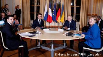 Саммит в нормандском формате в Париже, декабрь 2019 года