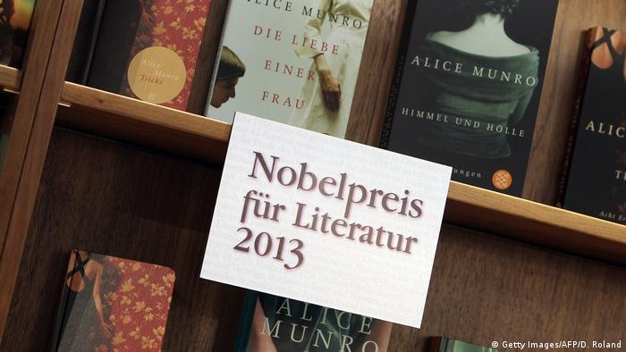 Frankfurt book fair 2013. A book by Alice Munro by S. Fischer Verlag (Getty Images/AFP/D. Roland)