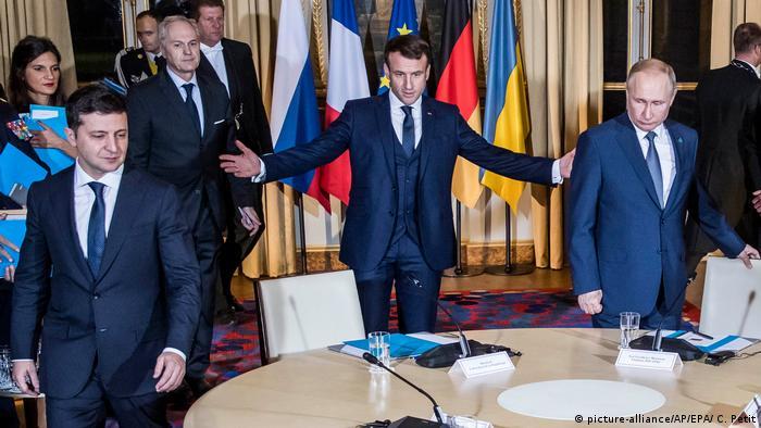 Володимир Зеленський вперше взяв участь у зустрічі у нормандському форматі