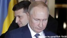 Ukraine-Gipfel in Paris Zelensky Putin
