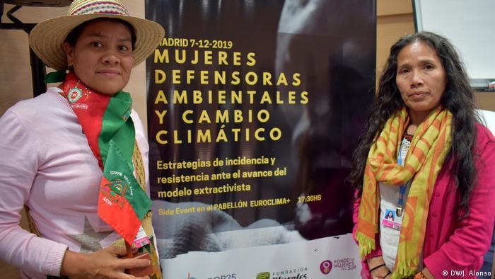 UN-Klimakonferenz 2019 Aktivisten (DW/J. Alonso)