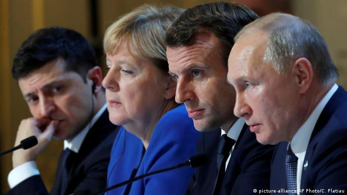 Ukraine peace summit in Paris (picture-alliance/AP Photo/C. Platiau)