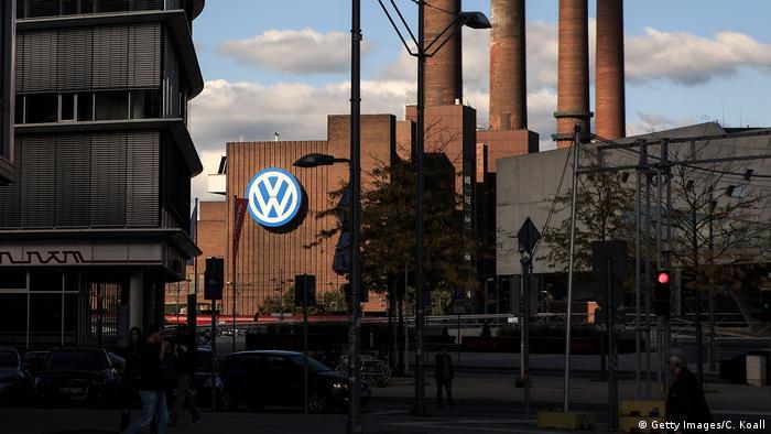 Завод Volkswagen у місті Вольфсбург, Німеччина