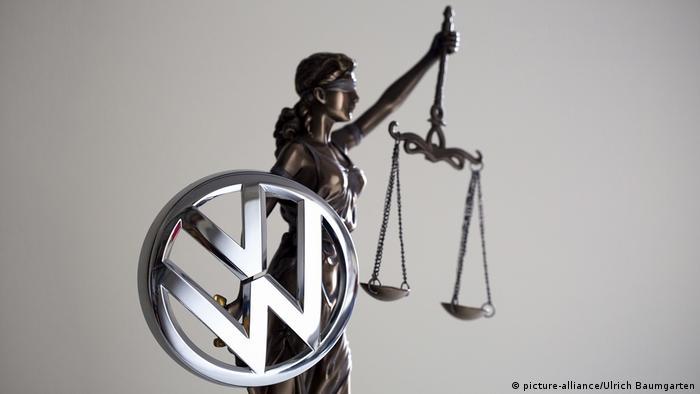 Symbolbild VW Diesel Skandal Prozess (picture-alliance/Ulrich Baumgarten)
