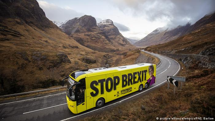 BdTD Schottland Wahlkampf