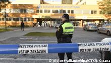 10.12.2019, Tschechien, Ostrava: The shooting in the Ostrava hospital claimed six victims in Ostrava, Czech Republic, December 10, 2019. (CTK Photo/Jaroslav Ozana) Foto: Jaroslav Ozana/CTK/dpa  