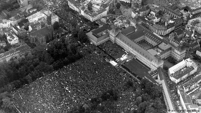 Friedens- und Abrüstungsdemonstration in Bonn 1981