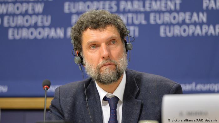 Osman Kavala 1 Kasım 2017'de gözaltına alınmıştı