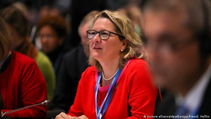 German environment minister Svenja Schulze