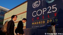 Spanien UN-Klimakonferenz 2019 COP 25 l Außenansicht Messe