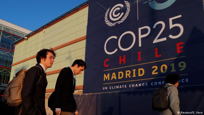 Cúpula do clima em Madri