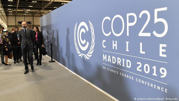 La COP25 debió trasladarse a Madrid por la crisis social que vive Chile, a pesar de lo cual el país sudamericano mantuvo la presidencia del encuentro.
