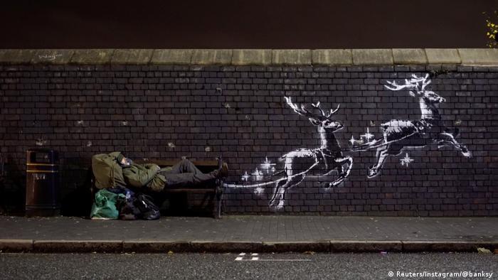 New Banksy mural in Birmingham (Reuters/Instagram/@banksy )
