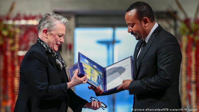 Norwegen l Verleihung des Friedensnobelpreis an Abiy Ahmed in Oslo (picture alliance/dpa/NTB scanpix/H. M. Larsen)