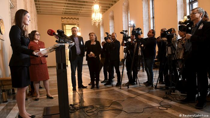 Finnlands Regierung: jung, weiblich, kompetent