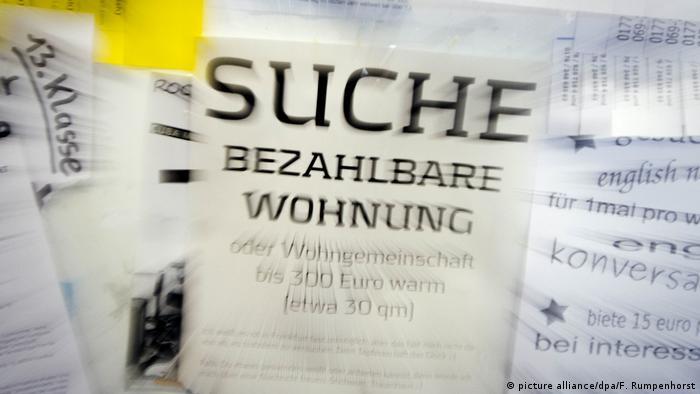 Deutschland Immobilien l Wohnungssuche - Suchanzeige