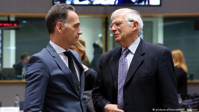 EU-Außenbeauftragter Josep Borrell mit Heiko Maas