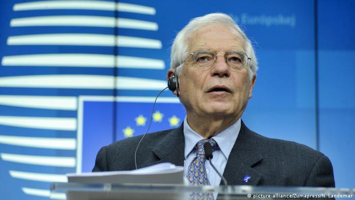 Верховный представитель ЕС по внешней политике и безопасности Жозеп Боррель