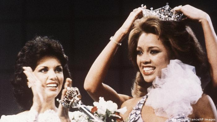 Vanessa Williams Miss America 1984 (picture-alliance/AP Images)