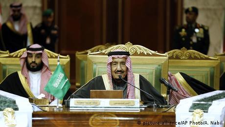 Saudi-Arabien Gipfeltreffen Golf-Kooperationsrat in Riad (picture-alliance/AP Photo/A. Nabil)