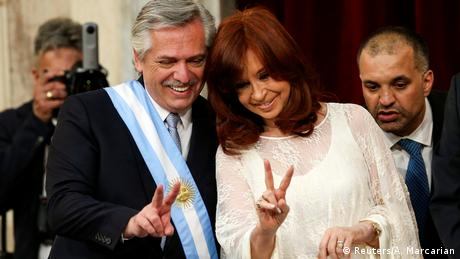 Argentinien Alberto Fernández Inauguration (Reuters/A. Marcarian)